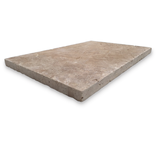 AT0002 Travertine Classico Tumbled Paver 406x610x30mm