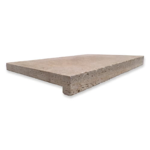 AT0026 Travertine Classico Tumbled 'Drop Edge'