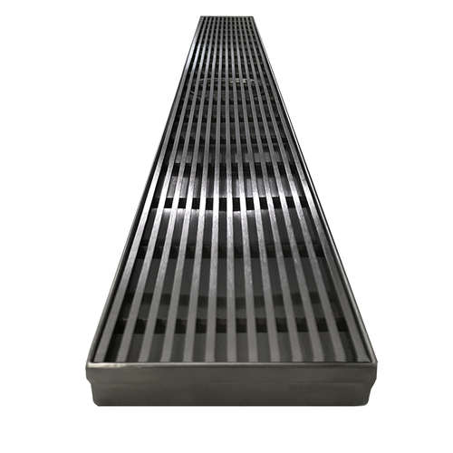 800mm Channel Strip Drain - Centered Waste