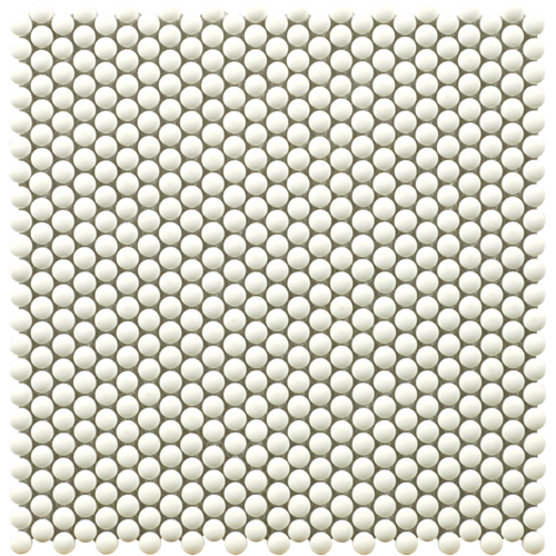 182001 - Dots White Dot Mosaic